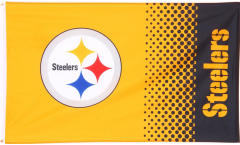 NFL Pittsburgh Steelers Fan Flag - 3 x 5 ft. / 90 x 150 cm