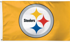 NFL Pittsburgh Steelers Gold Flag - 3 x 5 ft. / 90 x 150 cm