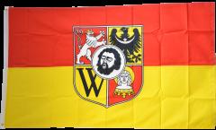 Poland Wroclaw Flag