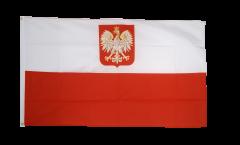 Poland with eagle Flag