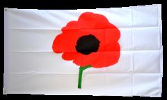 Remembrance Poppy Flag - 3 x 5 ft. / 90 x 150 cm