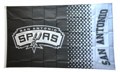 NBA San Antonio Spurs Flag - 3 x 5 ft. / 90 x 150 cm