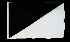 Per-bend black/white diagonal Flag - 2 x 3 ft.