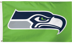 NFL Seattle Seahawks Green Flag - 3 x 5 ft. / 90 x 150 cm