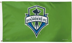MLS Seattle Sounders Flag - 3 x 5 ft. / 90 x 150 cm