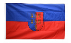 Transylvanian Saxons Flag - 3 x 5 ft. / 90 x 150 cm