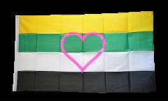 Skoliosexual Flag - 3 x 5 ft. / 90 x 150 cm