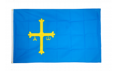 Spain Asturias Flag - 3 x 5 ft. / 90 x 150 cm