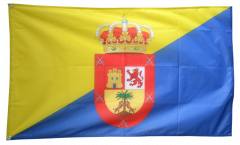 Spain Gran Canaria Flag - 3 x 5 ft. / 90 x 150 cm