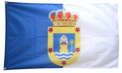 Spain La Palma Flag - 3 x 5 ft. / 90 x 150 cm