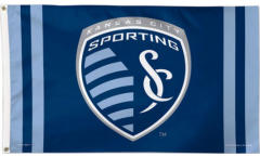 MLS Sporting Kansas City Flag - 3 x 5 ft. / 90 x 150 cm