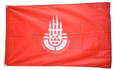 Turkey Istanbul Flag - 3 x 5 ft. / 90 x 150 cm