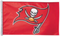 NFL Tampa Bay Buccaneers Flag - 3 x 5 ft. / 90 x 150 cm