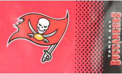 NFL Tampa Bay Buccaneers Fan Flag - 3 x 5 ft. / 90 x 150 cm