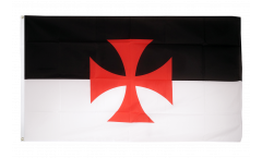 Temple Knight Flag - 3 x 5 ft. / 90 x 150 cm