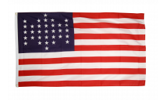 USA 33 stars Flag - 3 x 5 ft. / 90 x 150 cm