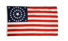 USA 38 stars 1877 Flag - 3 x 5 ft. / 90 x 150 cm