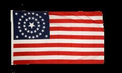 USA 38 stars 1877 Flag