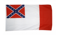 USA 3rd Confederate Flag - 3 x 5 ft. / 90 x 150 cm