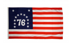USA Bennington 76 Flag - 3 x 5 ft. / 90 x 150 cm