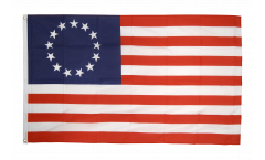 USA Betsy Ross 1777-1795 Flag - 3 x 5 ft. / 90 x 150 cm