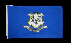 USA Connecticut Flag - 3 x 5 ft. / 90 x 150 cm