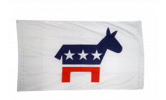 USA Democrats Flag - 3 x 5 ft. / 90 x 150 cm