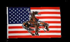 USA End of trail Flag