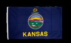 USA Kansas Flag - 3 x 5 ft. / 90 x 150 cm