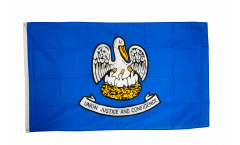 USA Louisiana Flag - 3 x 5 ft. / 90 x 150 cm