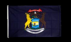 USA Michigan Flag - 3 x 5 ft. / 90 x 150 cm