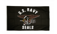 USA Navy Seals Flag - 3 x 5 ft. / 90 x 150 cm