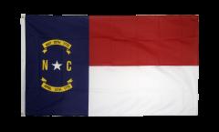 USA North Carolina Flag - 3 x 5 ft. / 90 x 150 cm