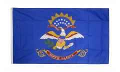 USA North Dakota Flag - 3 x 5 ft. / 90 x 150 cm