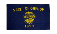 USA Oregon Flag - 3 x 5 ft. / 90 x 150 cm