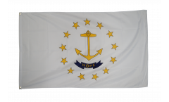 USA Rhode Island Flag - 3 x 5 ft. / 90 x 150 cm