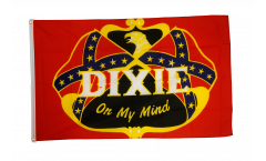 USA Southern United States Dixie on my mind Flag - 3 x 5 ft. / 90 x 150 cm