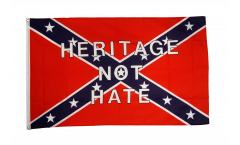 USA Southern United States Heritage not Hate Flag - 3 x 5 ft. / 90 x 150 cm