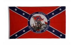 USA Southern United States South will rise again Flag