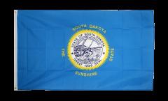 USA South Dakota Flag - 3 x 5 ft. / 90 x 150 cm