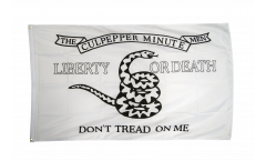 USA The Culpeper Minuteman Flag - 3 x 5 ft. / 90 x 150 cm