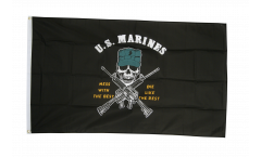 USA US Marine Corps Mess with the Best Flag - 3 x 5 ft. / 90 x 150 cm