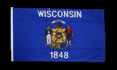 USA Wisconsin Flag - 3 x 5 ft. / 90 x 150 cm