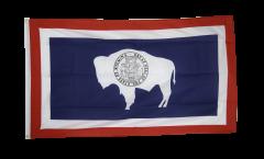 USA Wyoming Flag