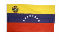 Venezuela 8 stars with coat of arms Flag