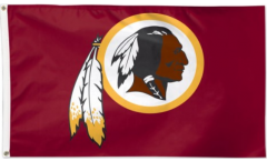 NFL Washington Redskins Flag - 3 x 5 ft. / 90 x 150 cm