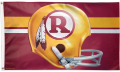 Washington Redskins Helmet Flag