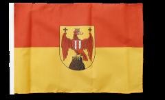 Austria Burgenland Flag with sleeve