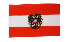 Austria with eagle Flag - 12 x 18 inch