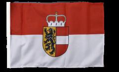 Austria Salzburg Flag with sleeve